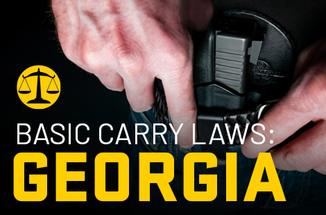 Basic Carry Laws: Georgia