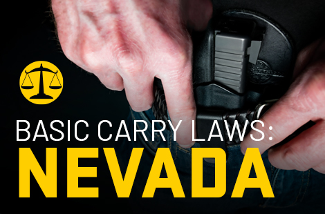 Basic Carry Laws: Nevada