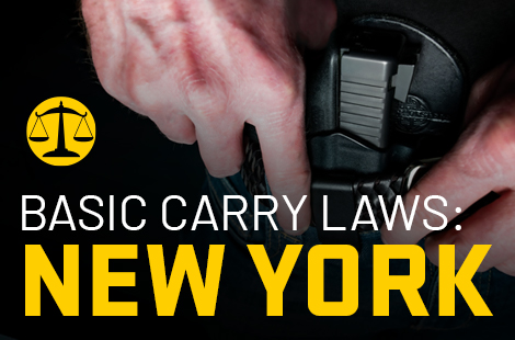 Basic Carry Laws: New York