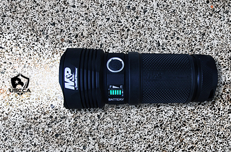 Smith & Wesson M&P Night Terror 12,500-Lumen Rechargeable Flashlight