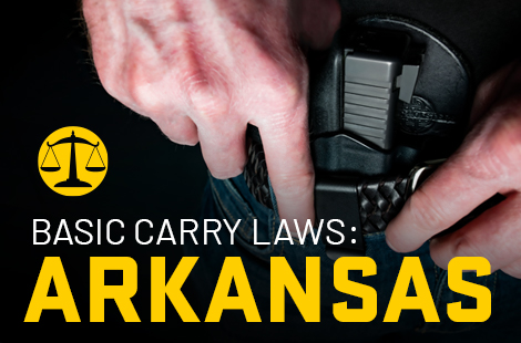 Basic Carry Laws: Arkansas